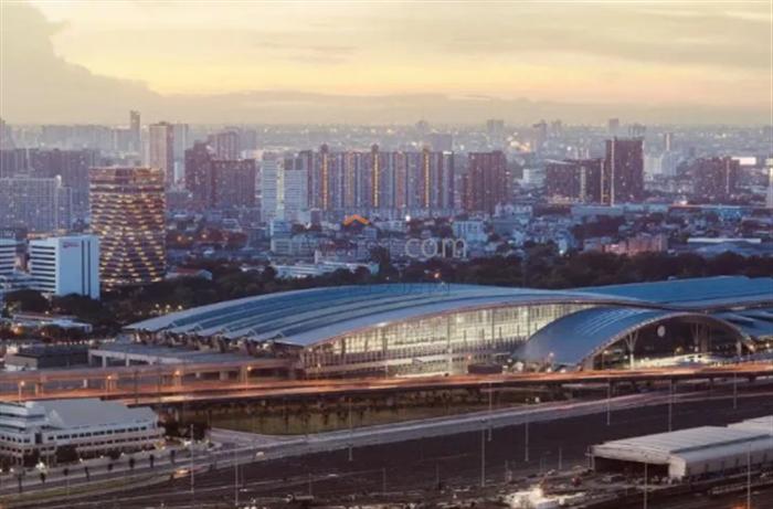 挽賜車站完工近9成,泰國即將進入鐵道運輸復興新時代